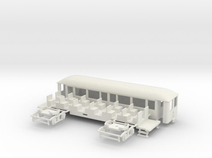 OEG geschl. Dampfbahnbeiwagen gr. Stirnfenster 3d printed