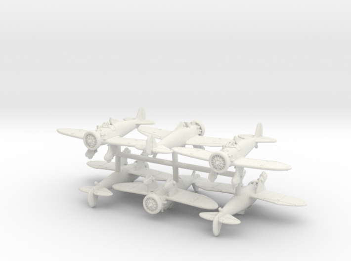 Boeing P-26A Peashooter (x6) 3d printed