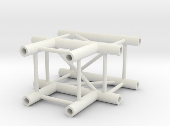Square truss T piece 1:10 3d printed