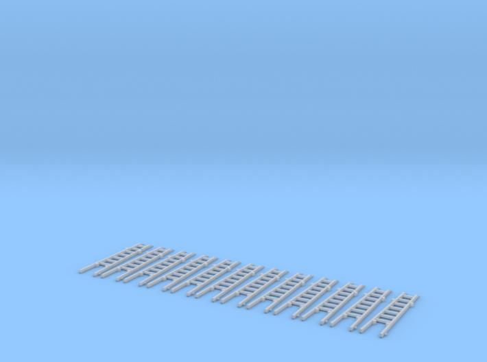 Steckleiter Teil B Holz Set 3d printed