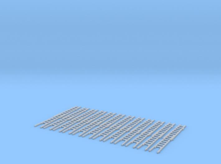 Steckleiter Teil B Holz 2fach Set 3d printed