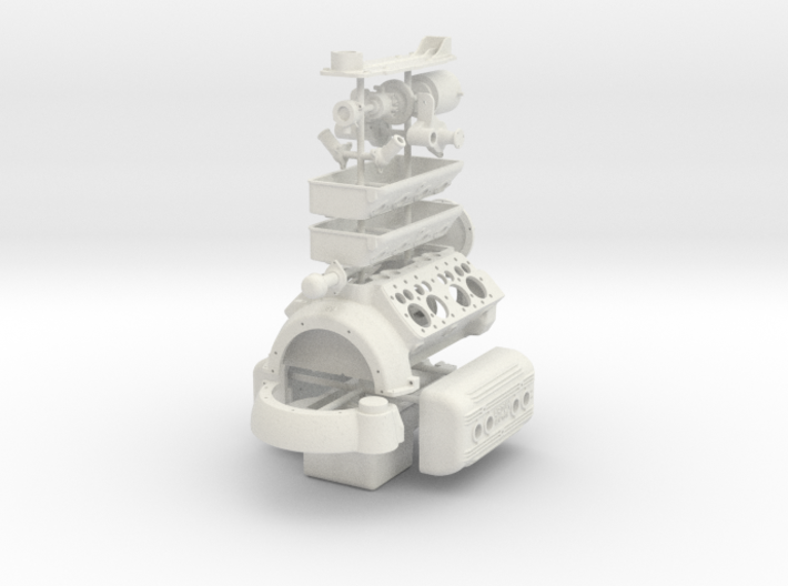 1/8 Flathead Basic Block Kit 3d printed