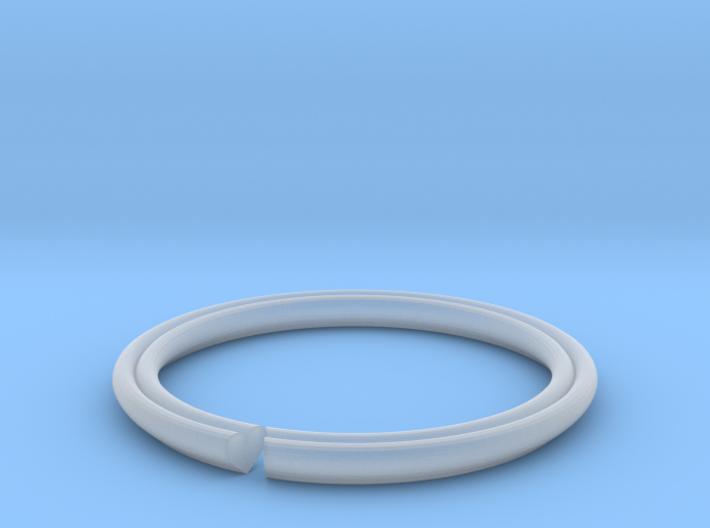 Secret Hidden Heart Ring for introverts! (sz 5.25) 3d printed