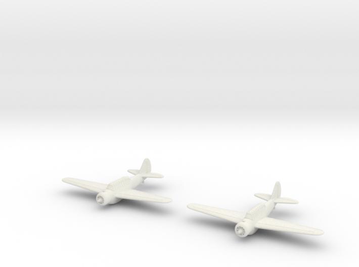 1/200 North American O-47 (x2) 3d printed