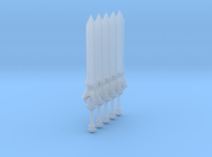 Sword 11 (fantasy great sword) 3d printed