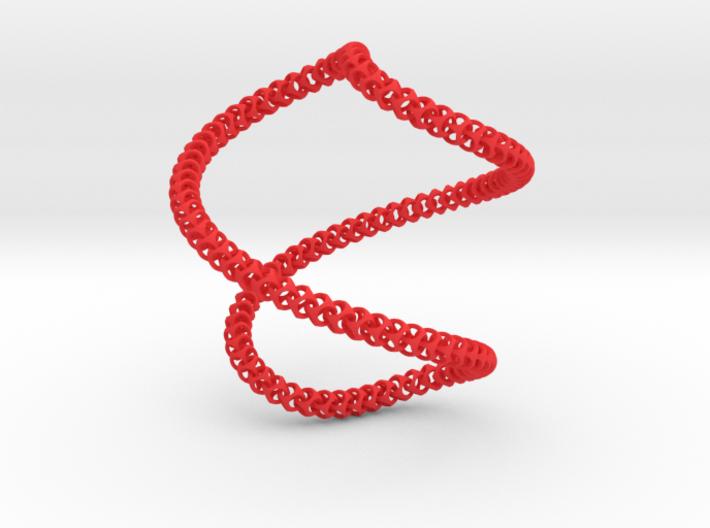 Cubichain Necklace 8 (60cm) 3d printed
