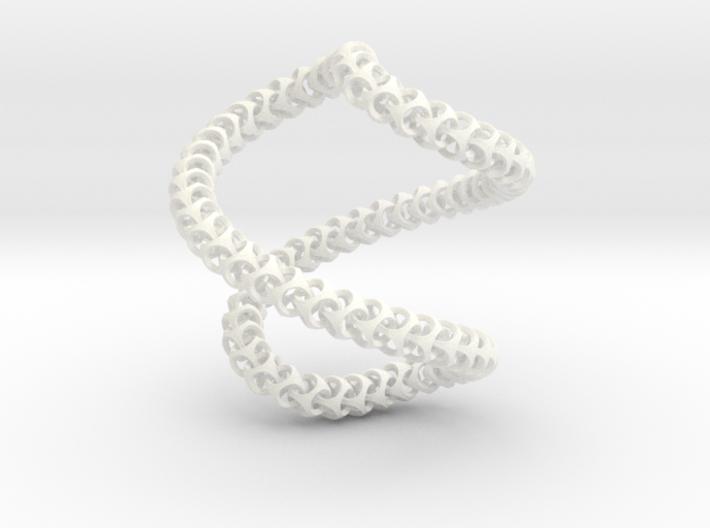 Cubichain Necklace 12 (56cm) 3d printed