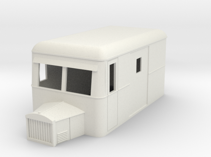 On16.5 Railbus Freight 3d printed