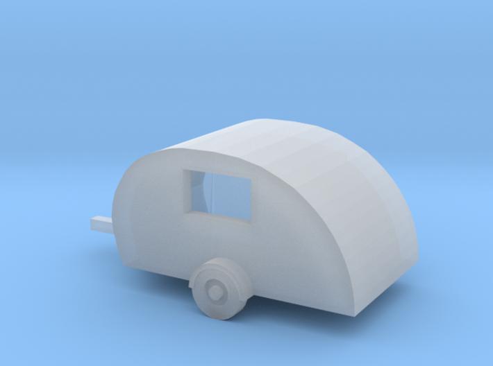 Z Scale Scotty Lite Traveltrailer 3d printed