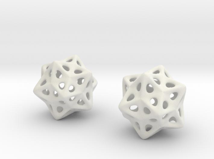 biostar earrings 3d printed