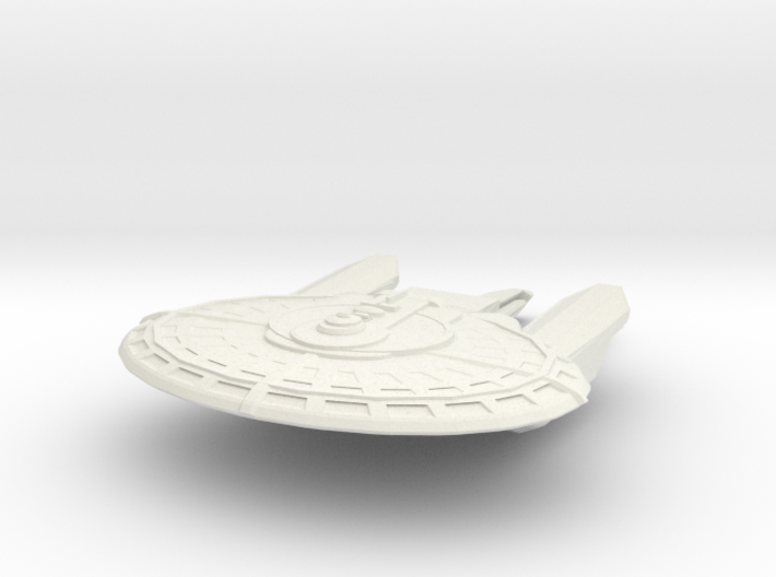 Franklin Class Destroyer 3d printed
