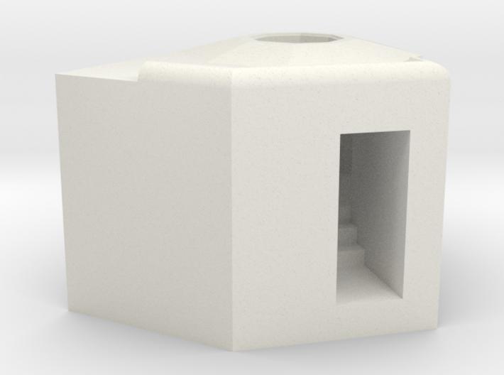1/144 Bauform 206 (61a alt) Ringstand 3d printed