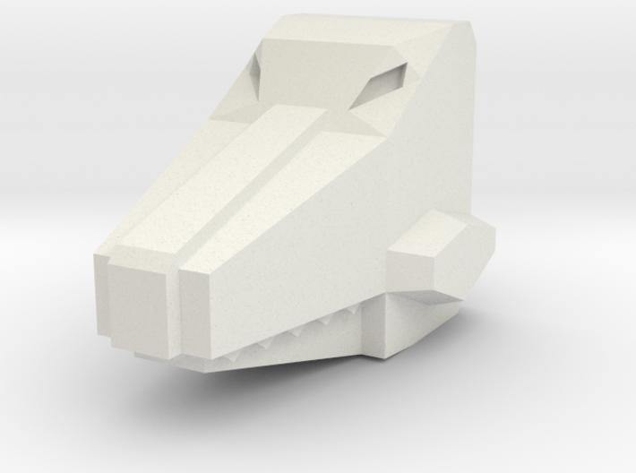 Headbiter Croc Head 3d printed