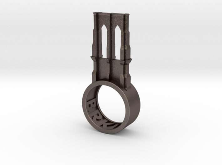 Brooklyn Ring 3d printed