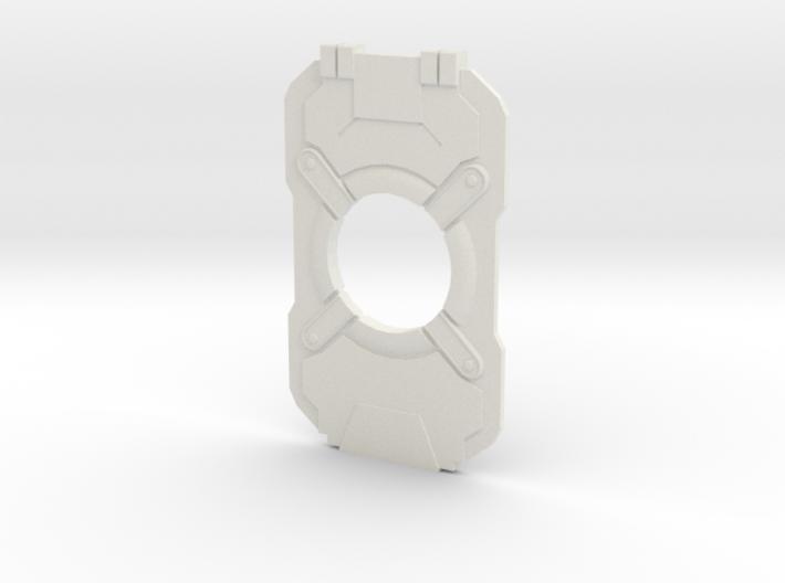 Halo 4 Cortana Chip 3d printed