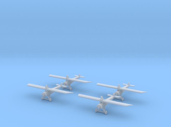 1/300 Morane L (x4) 3d printed