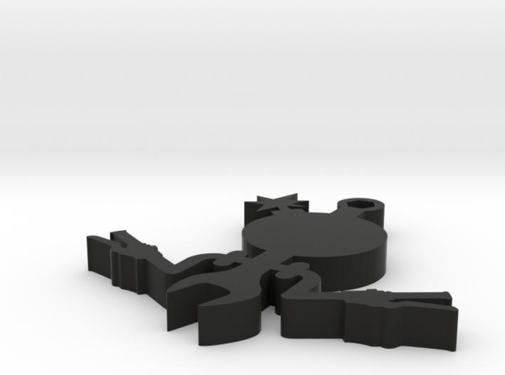 The Beemer Dan in plastic 3d printed