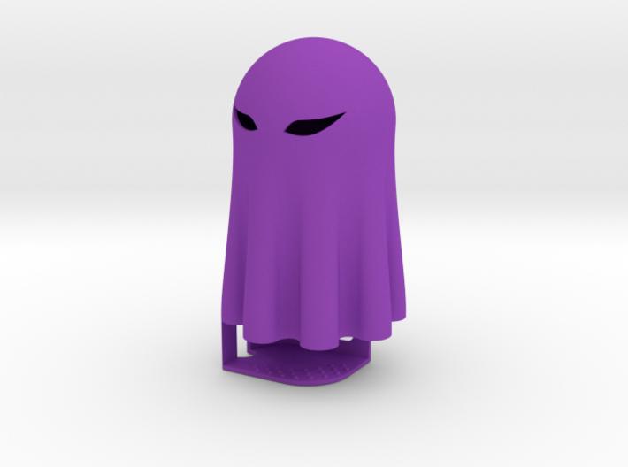 Lightclip: ninja Ghost, iPhone 4/4S 3d printed