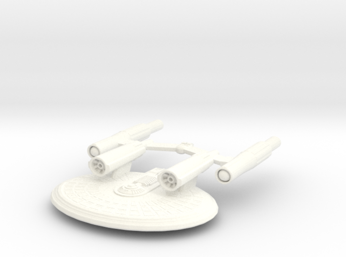 USS Eos 3d printed