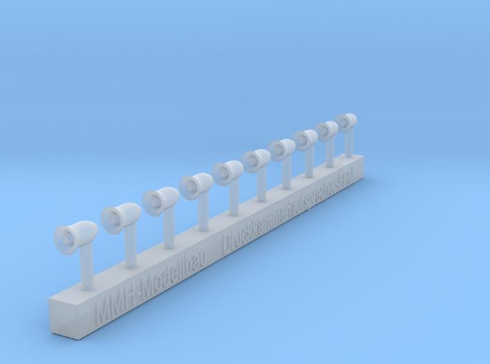 Druckkammerlautsprecher FFM 3d printed