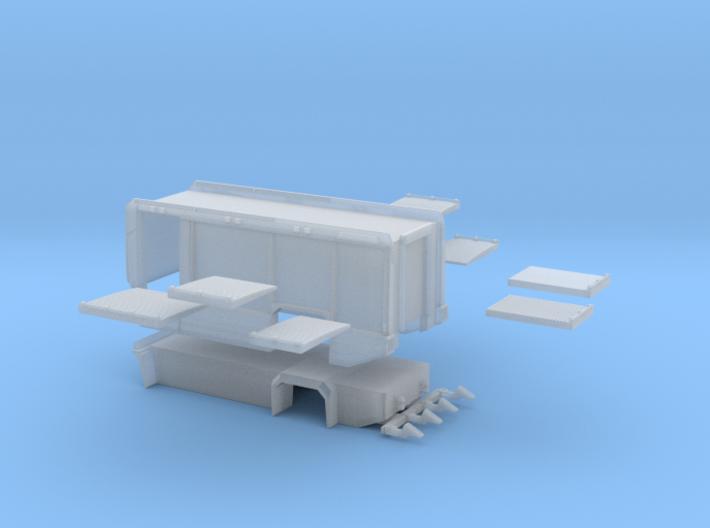 Aufbau AT3 Airbus 4500mmRadstand + Heckrollo ohne 3d printed