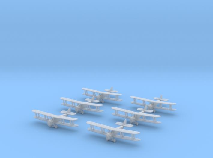 1/350 Airco D.H.4 (x6) 3d printed