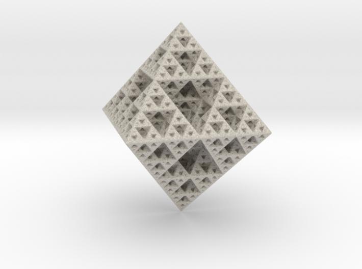 Sirpenski Octahedron 3d printed