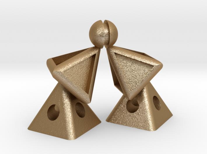 Pyramid Kiss mini 3d printed