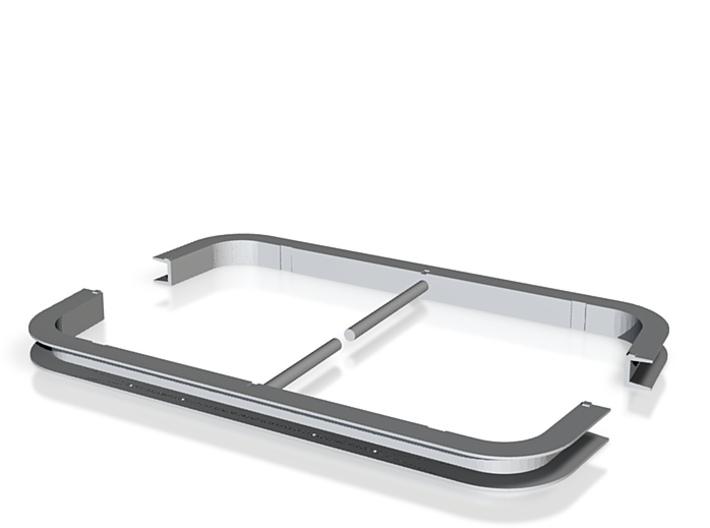 Rahmen Guß 02 (repariert) 3d printed