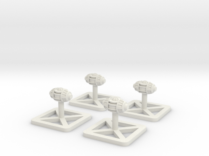 4x Bomb 3d printed