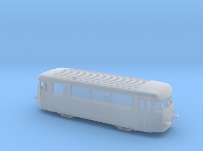 Vorserien Schienenbus Spur TT 1:120 3d printed
