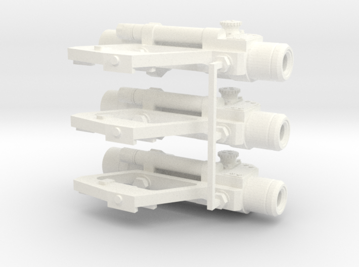 1:6 scale Russian PKS-07 Optic SIght Side Mounted 3d printed