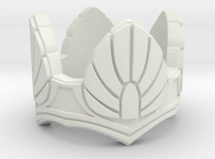 Gray Dawn Ring size 10 3d printed