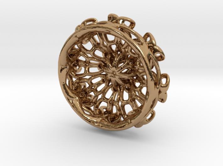 Incendia Ex knot pendant 3d printed
