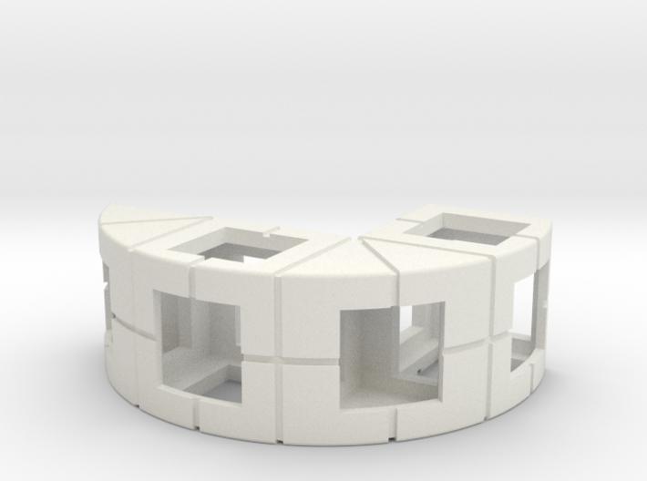 Rokenbok Half Circle Diameter 3 3d printed
