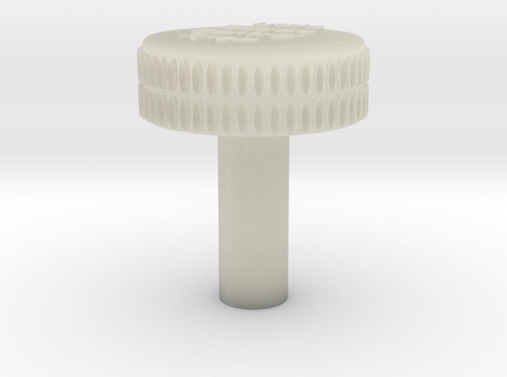 Heater Twist Control Knob 3d printed