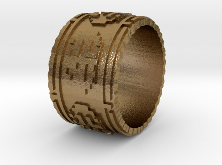 The Wanderer (Ring) 3d printed