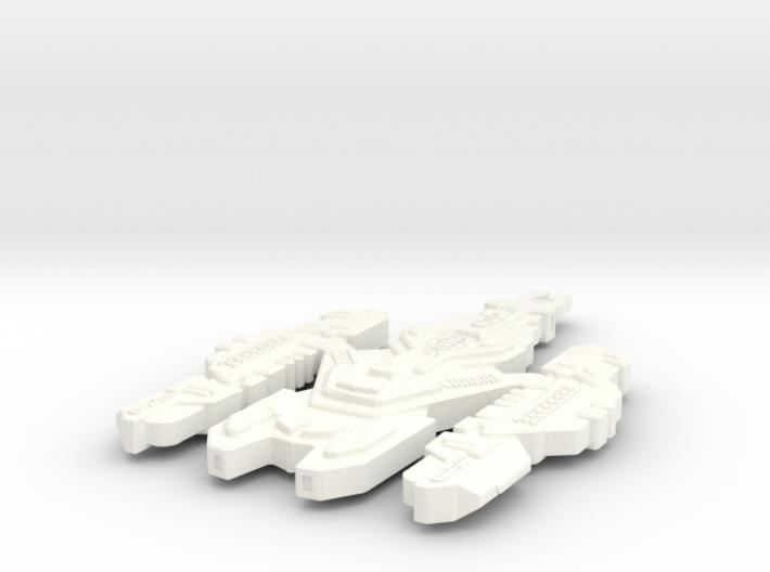Kearnon Class Cardassian Ship (Larger) 3d printed