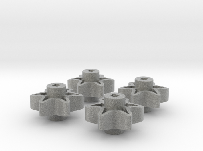 4x 6-Tooth High Strength Sprocket 3d printed