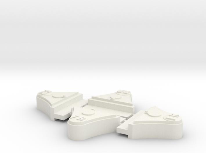 "FR 2 Ton 7/8"" scale axleboxes 3d printed"