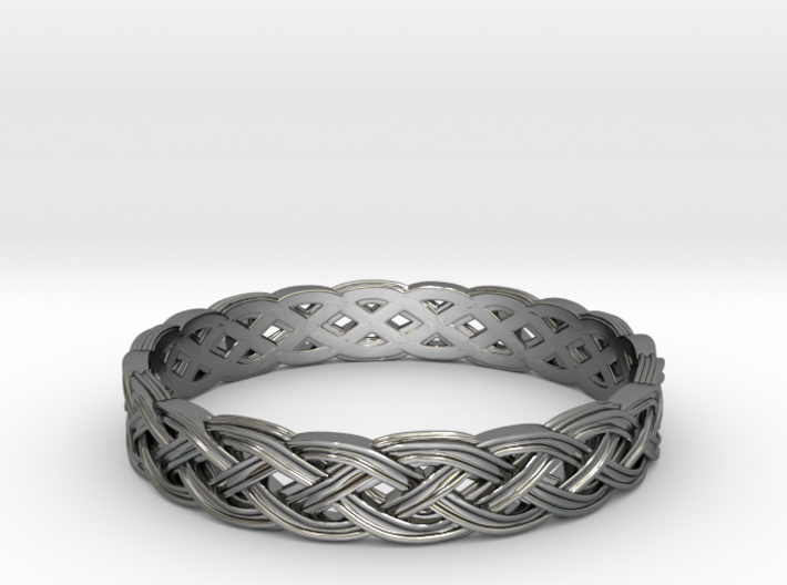 Hieno Delicate Celtic Knot Size 7.5 3d printed