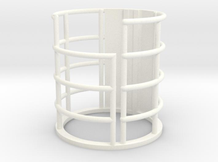 "Lower Deck Elevator 3d printed Elevator Cage Lower Deck 12"" J2"