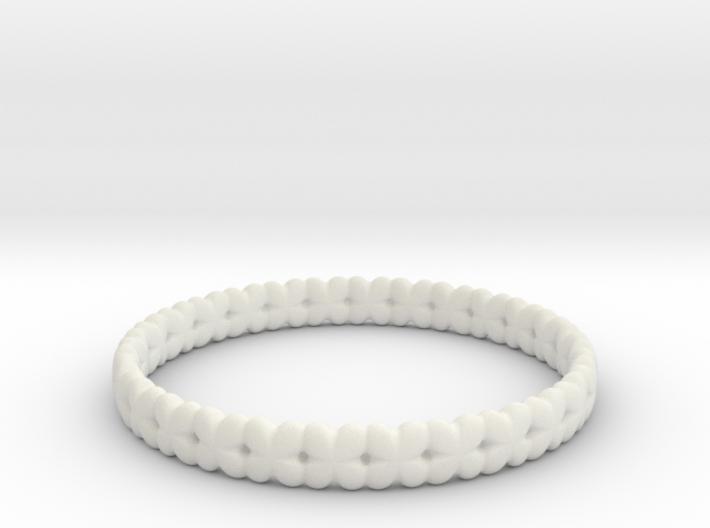 Clover Bracelet A 3d printed