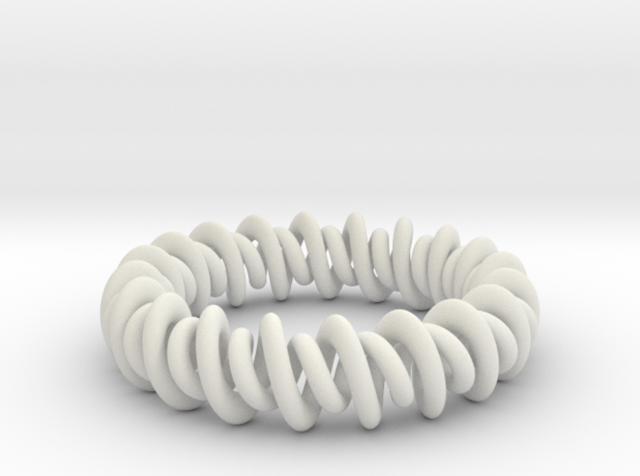 GW3Dfeatures Bracelet A 3d printed