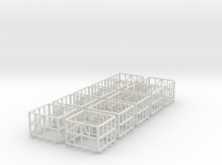 HOn30 Cane bin body X10 3d printed