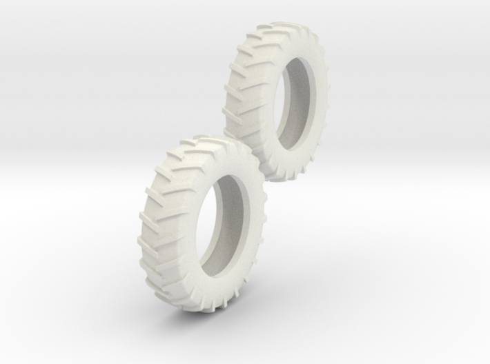 1:64 18.4-38 Tire Pair 3d printed