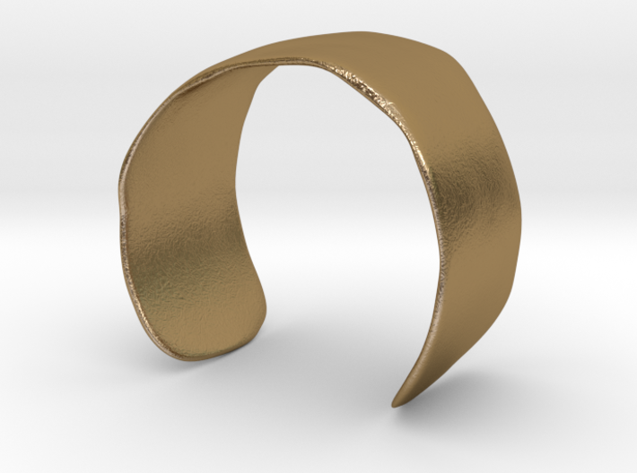 Molded Cuff (48mm Inner Radius) 3d printed