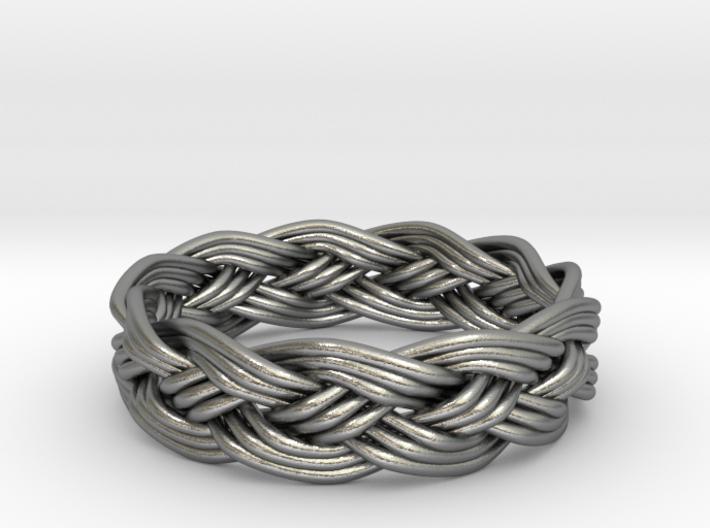 Turks Head Ring Knot 3d printed
