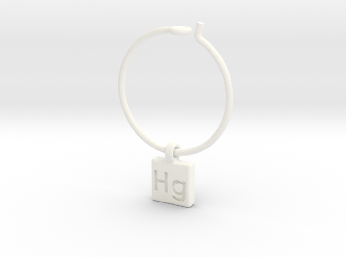 Element Wine Charm - Hg 3d printed