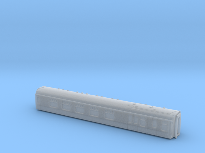 BR Mk1 BCK T 1:450 3d printed